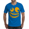 Funny Crazy Monster Face Mens T-Shirt