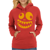 Funny Crazy Monster Face Womens Hoodie