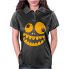 Funny Crazy Monster Face Womens Polo