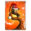 Funny cute christmas giraffe Tablet