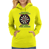 Funny Darts I'm Never Wearing, Ideal Gift or Birthday Present. Womens Hoodie
