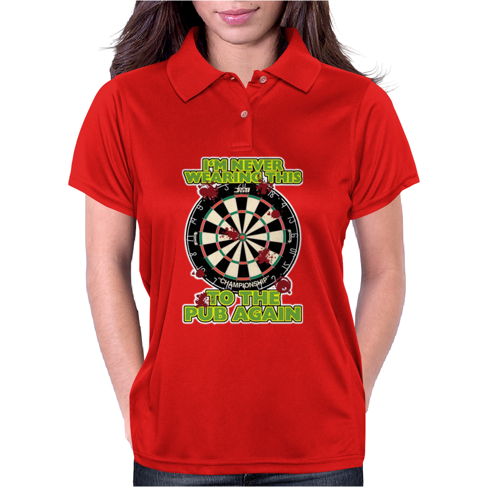 Funny Darts I'm Never Wearing, Ideal Gift or Birthday Present. Womens Polo