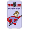 Funny Donald Trump Super Hero Phone Case