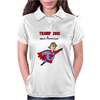 Funny Donald Trump Super Hero Womens Polo