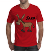 Funny Donkey Named Jack Mens T-Shirt