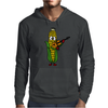 Funny Ear of Corn Playing Fiddle Mens Hoodie