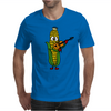 Funny Ear of Corn Playing Fiddle Mens T-Shirt