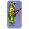 Funny Ear of Corn Playing Fiddle Phone Case