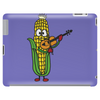 Funny Ear of Corn Playing Fiddle Tablet