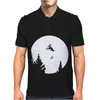 Funny ET Moon BMX Mens Polo