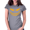 Funny Evil Cool Gremlin Face Womens Fitted T-Shirt