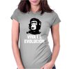 Funny Evolution Che Guevara Chimp Womens Fitted T-Shirt