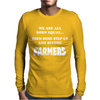 Funny Farmers Mens Long Sleeve T-Shirt
