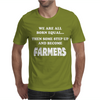 Funny Farmers Mens T-Shirt