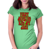 FUNNY Ferry Mucking Christmas, Ideal Gift or Christmas Present. Womens Fitted T-Shirt