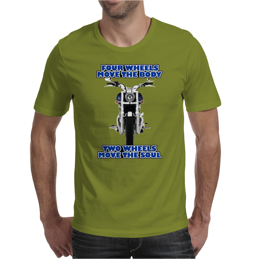 Funny , FourTwo Wheels, Ideal Gift, Birthday Present Mens T-Shirt