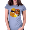 funny Full English Breakfast, Ideal Gift Or Birthday Present Womens Fitted T-Shirt
