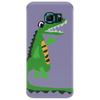 Funny Funky Alligator Talking to Crocodile Original Art Phone Case