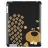 Funny Funky Beaver Abstract Art Tablet