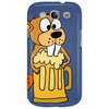 Funny Funky Beaver Drinking Beer Phone Case