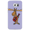 Funny Funky Moose Playing Red Guitar Phone Case