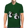 Funny Funky Sheep Playing the Bagpipes Art Mens Polo