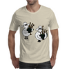 Funny Funky Sheep Playing the Bagpipes Art Mens T-Shirt