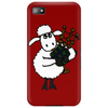 Funny Funky Sheep Playing the Bagpipes Art Phone Case
