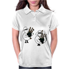 Funny Funky Sheep Playing the Bagpipes Art Womens Polo