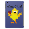 Funny Funky Wine Chick Cartoon Tablet