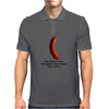 FUNNY GAY SATIRE HUMOUR GAY HOTDOG VENDERS ALWAYS HAVE GREY POUPON THEIR WIENERS Mens Polo