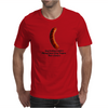 FUNNY GAY SATIRE HUMOUR GAY HOTDOG VENDERS ALWAYS HAVE GREY POUPON THEIR WIENERS Mens T-Shirt