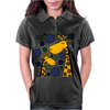 Funny Giraffe Family Abstract Art Original Womens Polo
