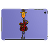 Funny Giraffe with Electric Guitar Body Tablet