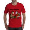 Funny Goat Rodeo Job Cartoon Art Mens T-Shirt