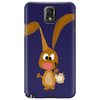 Funny Goofy Bunny Rabbit Original Art Phone Case