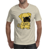 Funny Grumpy Pug Dog Cartoon Mens T-Shirt