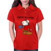 Funny Grumpy Sleepy Sheep Hates Mornings Womens Polo