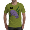 Funny Hugh Manatee Art Original Mens T-Shirt