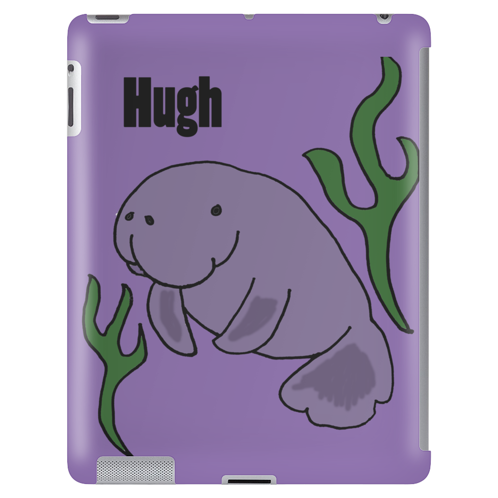 Funny Hugh Manatee Art Original Tablet