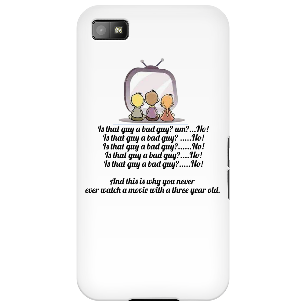FUNNY HUMOUR LAUGH IS THAT GUY A BAD GUY? UM? NO! IS THAT GUY A BAD GUY? NO IS THAT GUY A BAD GUY? N Phone Case