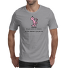 FUNNY HUMOUR LAUGH SOMETIMES BEING AN ASSHOLE ISN'T NECESSARY BUT THEN SOMETIMES IT'S JUST PLAIN FUN Mens T-Shirt