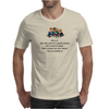 FUNNY HUMOUR LAUGHTER WHY IS IT THAT WHEN YOU'RE AT A SPECIAL FUNCTION WITH A CROWD OF PEOPLE THERE Mens T-Shirt