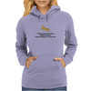 funny humour smile TODAY MY DECISION MAKING KINDA RESEMBLES A SQUIRREL TRYING TO CROSS THE STREET Womens Hoodie