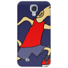 Funny Jogging Greyhound Dog Cartoon Phone Case