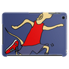 Funny Jogging Greyhound Dog Cartoon Tablet
