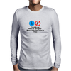 FUNNY LAUGHTER CRAZY HUMOUR I THINK I'VE LOST MY MIND NEAR AS I CAN TELL THE ONLY PART I GOT LEFT IS Mens Long Sleeve T-Shirt