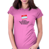 funny laughter crazyYES I GUESS YOU COULD HAVE MY NAME BUT IT WOULD BE A HELL OF A COINCIDENCE Womens Fitted T-Shirt