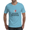 FUNNY LAUGHTER HUMOUR 911:WHAT IS YOUR EMERGENCY .I LOVE YOU, HANG UP NO YOU HANG UP FIRST HANG UP! Mens T-Shirt