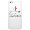 FUNNY LAUGHTER HUMOUR 911:WHAT IS YOUR EMERGENCY .I LOVE YOU, HANG UP NO YOU HANG UP FIRST HANG UP! Phone Case